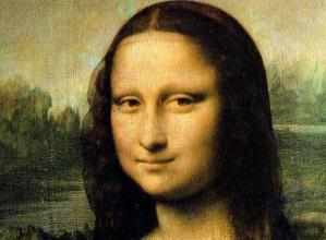 Mona Lisa has no eyebrows