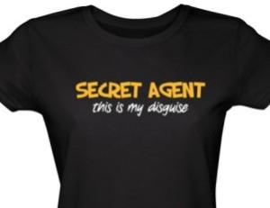 secret agent disguise