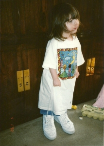 It was years before that shirt fit right. Don't get me started on the shoes...