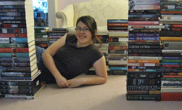 I learned today that I do not have enough books to build a complete fort. I found a new life goal.