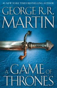 A Game of Thrones by GRR Martin
